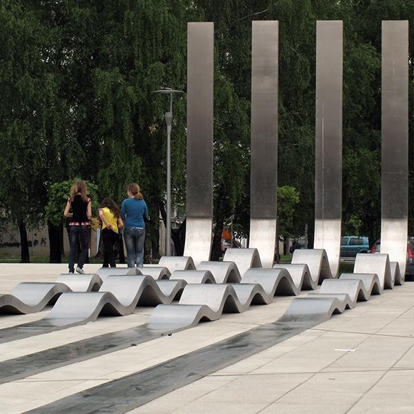 Alem Korkut Skulpture u javnom prostoru